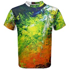 Abstract Landscape Men s Cotton Tees