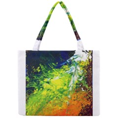 Abstract Landscape Tiny Tote Bags