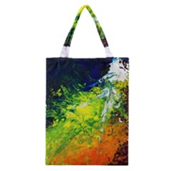 Abstract Landscape Classic Tote Bags