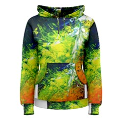 Abstract Landscape Women s Pullover Hoodies