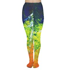 Abstract Landscape Women s Tights