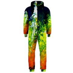 Abstract Landscape Hooded Jumpsuit (Men)