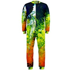 Abstract Landscape Onepiece Jumpsuit (men)