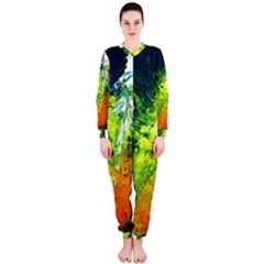 Abstract Landscape OnePiece Jumpsuit (Ladies)
