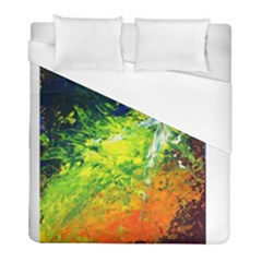 Abstract Landscape Duvet Cover Single Side (twin Size)