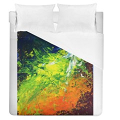 Abstract Landscape Duvet Cover Single Side (full/queen Size)