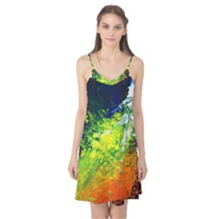 Abstract Landscape Camis Nightgown