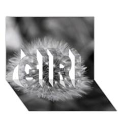 Modern Daffodil Seed Bloom Girl 3d Greeting Card (7x5)