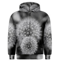 Modern Daffodil Seed Bloom Men s Zipper Hoodies