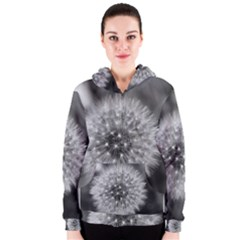 Modern Daffodil Seed Bloom Women s Zipper Hoodies