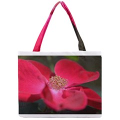 Bright Red Rose Tiny Tote Bags