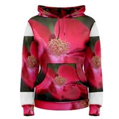 Bright Red Rose Women s Pullover Hoodies