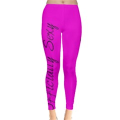 Officially Sexy Collection Pink Leggings