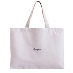 Comic Book Happy Birthday! Blue Zipper Tiny Tote Bags