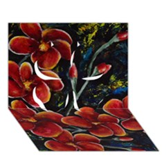 Hawaii is Calling Clover 3D Greeting Card (7x5)