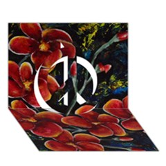 Hawaii is Calling Peace Sign 3D Greeting Card (7x5)