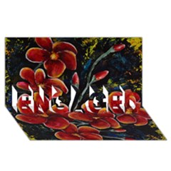 Hawaii Is Calling Engaged 3d Greeting Card (8x4)