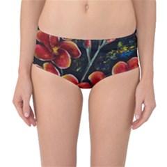 Hawaii Is Calling Mid Waist Bikini Bottoms