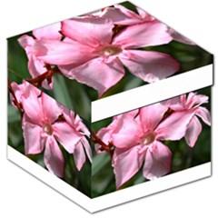 Pink Oleander Storage Stool 12