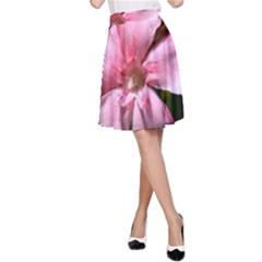Pink Oleander A-Line Skirts