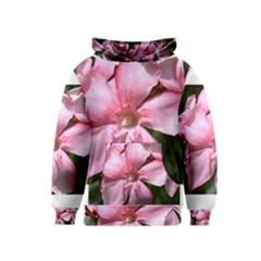 Pink Oleander Kid s Pullover Hoodies