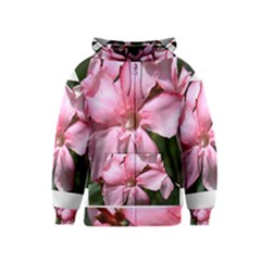 Pink Oleander Kids Zipper Hoodies