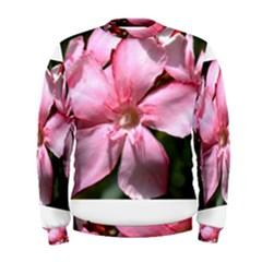 Pink Oleander Men s Sweatshirts
