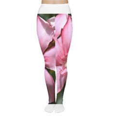 Pink Oleander Women s Tights