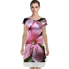 Pink Oleander Cap Sleeve Nightdresses