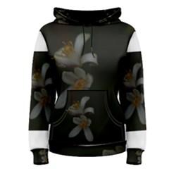 Lemon Blossom Women s Pullover Hoodies