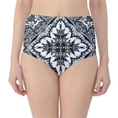 Doodlecross By Kirstenstar D70i5s5 High Waist Bikini Bottoms