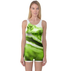 Green Frog Women s Boyleg One Piece Swimsuits