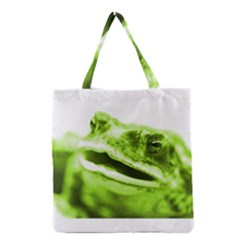Green Frog Grocery Tote Bags