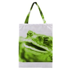 Green Frog Classic Tote Bags