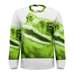Green Frog Men s Long Sleeve T-shirts