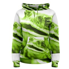 Green Frog Women s Pullover Hoodies