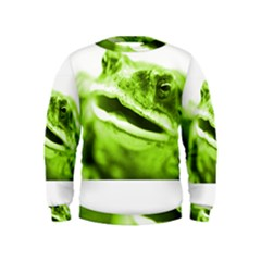 Green Frog Boys  Sweatshirts