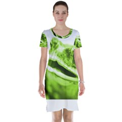 Green Frog Short Sleeve Nightdresses