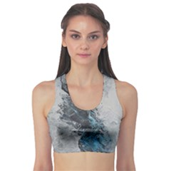 Ghostly Fog Sports Bra