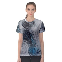 Ghostly Fog Women s Sport Mesh Tees