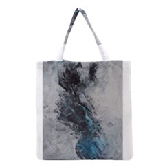 Ghostly Fog Grocery Tote Bags