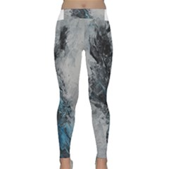 Ghostly Fog Yoga Leggings
