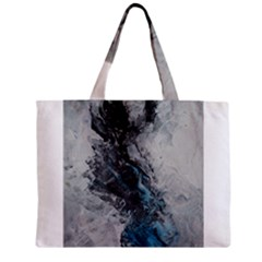 Ghostly Fog Zipper Tiny Tote Bags