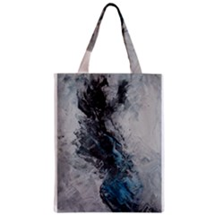 Ghostly Fog Zipper Classic Tote Bags