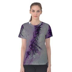 The Power Of Purple Women s Cotton Tees