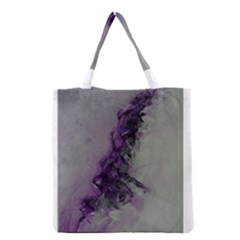 The Power Of Purple Grocery Tote Bags