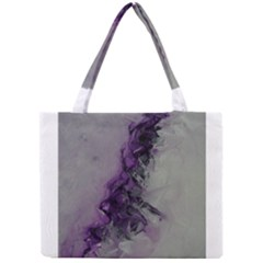 The Power Of Purple Tiny Tote Bags
