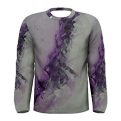 The Power Of Purple Men s Long Sleeve T-shirts