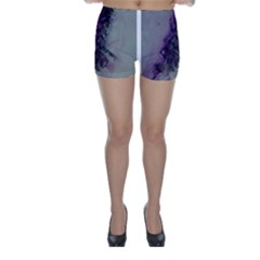The Power Of Purple Skinny Shorts