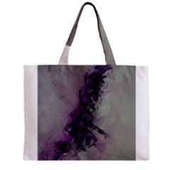 The Power Of Purple Zipper Tiny Tote Bags